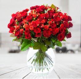 Bukiet Róż Czerwonych