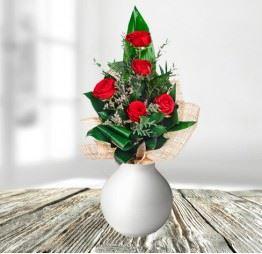 5 Czerwonych Róż