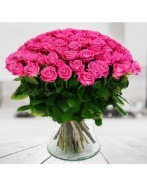 100 Różowych Róż